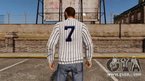Sweater-New York Yankees- for GTA 4 second screenshot