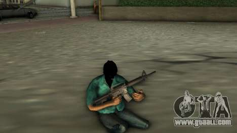 M4 Carbine for GTA Vice City third screenshot