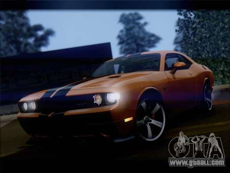 Dodge Challenger SRT8 2012 HEMI for GTA San Andreas left view