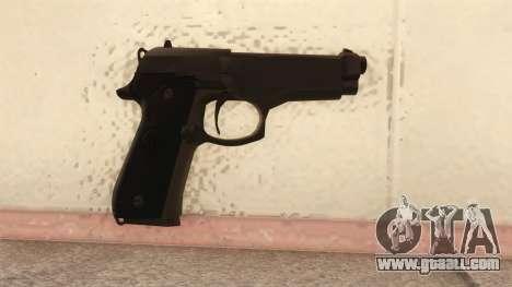 Beretta 92 FS for GTA San Andreas second screenshot