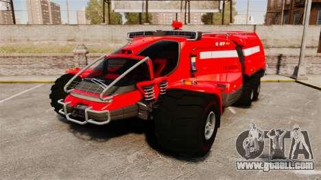 Pro Track SR2 Firetruck [ELS] for GTA 4