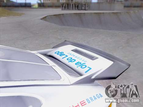 Porsche 911 RSR 3.3 skinpack 1 for GTA San Andreas upper view