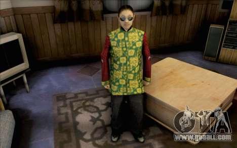 Asian guy for GTA San Andreas