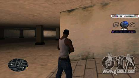 C-HUD Cesar Weezy for GTA San Andreas second screenshot