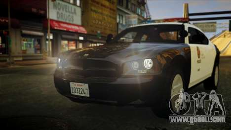 Dodge Charger LAPD 2008 for GTA 4