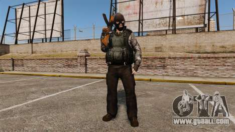 The terrorist outfit for GTA 4
