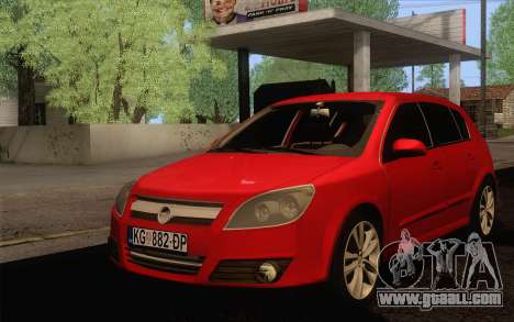 Opel Astra H for GTA San Andreas