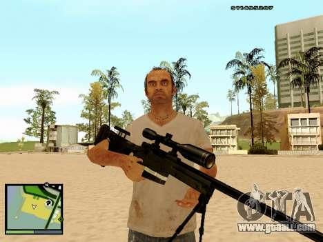 L115A3 Sniper Rifle for GTA San Andreas forth screenshot