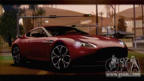 Aston Martin V12 Zagato 2012 [HQLM] for GTA San Andreas