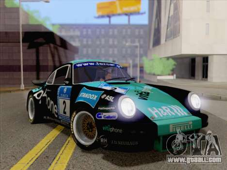 Porsche 911 RSR 3.3 skinpack 2 for GTA San Andreas right view