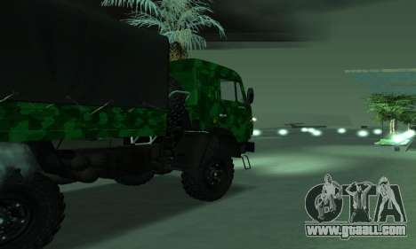 Army KAMAZ 4310 for GTA San Andreas left view