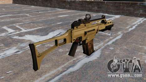 Tactical HK G36C assault rifle for GTA 4 second screenshot