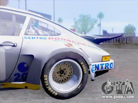 Porsche 911 RSR 3.3 skinpack 1 for GTA San Andreas side view