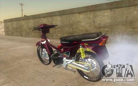 Honda Dream 100 VietNam for GTA San Andreas left view