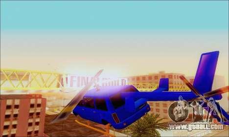 Fun Maverick for GTA San Andreas right view