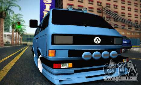 Volkswagen Transporter T2 Tuning for GTA San Andreas left view