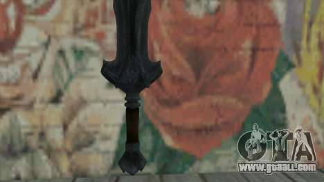 The imperial sword for GTA San Andreas second screenshot