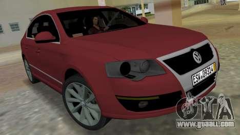 Volkswagen Passat 2007 for GTA Vice City