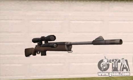 Sniper rifle from Left 4 Dead 2 for GTA San Andreas