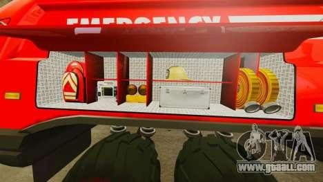 Pro Track SR2 Firetruck [ELS] for GTA 4 interior
