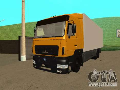 MAZ 6312A8 for GTA San Andreas