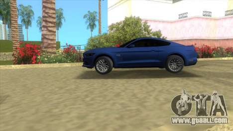 Ford Mustang GT 2015 for GTA Vice City left view