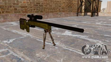 Sniper rifle M40A3 for GTA 4
