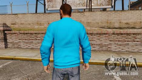 Sweater-Bench- for GTA 4 second screenshot