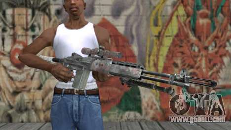 M14 EBR for GTA San Andreas third screenshot
