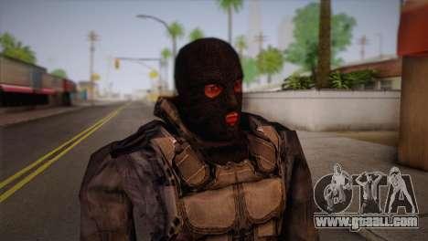 A mercenary from s. t. a. l. k. e. R for GTA San Andreas third screenshot