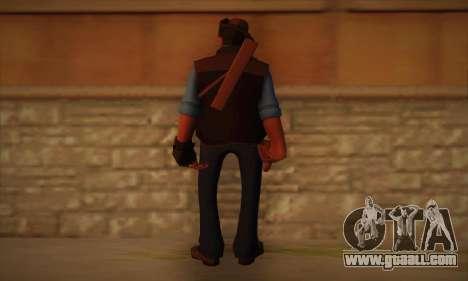 Skin sniper of Team Fortress 2 for GTA San Andreas second screenshot