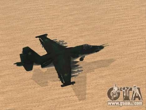 Su 25 for GTA San Andreas