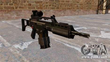 Assault rifle HK G36k for GTA 4