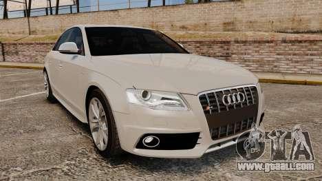 Audi S4 2010 for GTA 4