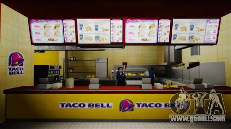 Eating McDonalds and Taco Bell for GTA 4 sixth screenshot
