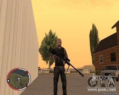L115A3 Sniper Rifle for GTA San Andreas second screenshot