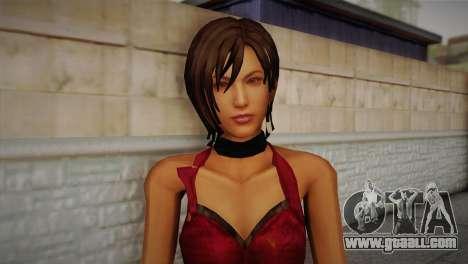 Ada Wong for GTA San Andreas third screenshot