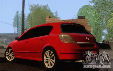 Opel Astra H for GTA San Andreas left view