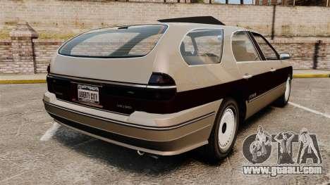 Solair 2000 Facelift for GTA 4 back left view