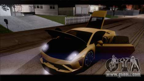 Lamborghini Gallardo LP560-4 Coupe 2013 V1.0 for GTA San Andreas engine