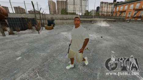 Franklin Clinton v3 for GTA 4 second screenshot
