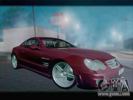 Mercedes SL500 v2 for GTA San Andreas