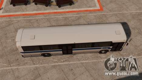 MCI Classic TC40-102A 1988 New York City for GTA 4 right view