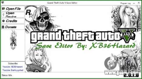 Grand Theft Auto V Save Editor v.2.0.1.0 for GTA 5