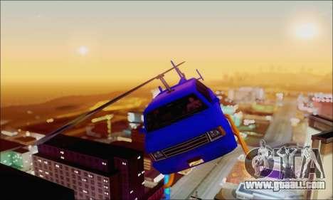 Fun Maverick for GTA San Andreas back view