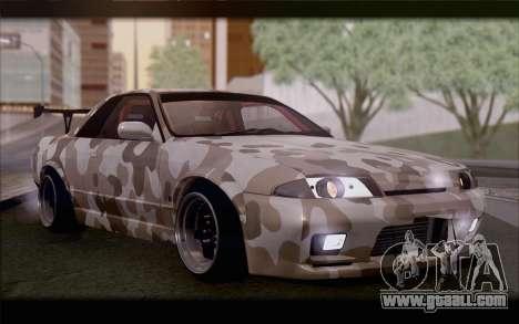 Nissan Skyline GTS Drift Spec for GTA San Andreas