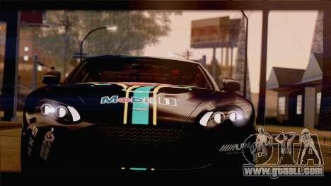 Aston Martin V12 Zagato 2012 [HQLM] for GTA San Andreas inner view