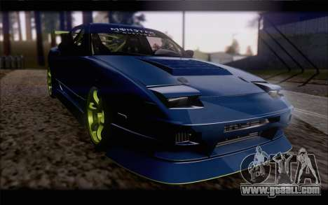 Nissan 240sx drift for GTA San Andreas inner view