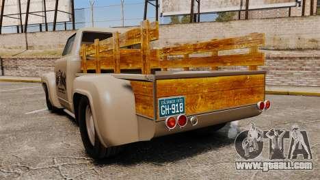 Hot Rod Truck Gas Monkey v2.0 for GTA 4 back left view