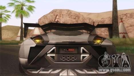 SuperMotoXL CONXERTO v2.0 for GTA San Andreas inner view
